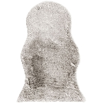 Teppich Cussin, Polyester, 65x102x2 cm