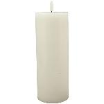 LED Kerze Lumière, weiß, 7,5x7,5x20 cm