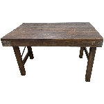 Antiker MarktTisch Antiquité, Holz, 92x61x53 cm