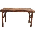 Antiker MarktTisch Antiquité, Holz, 122x57x70 cm