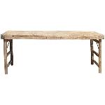 Antiker Dining Tisch Antiquité, Holz, 175x58x78 cm