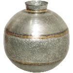 Vase Junker, zink, Metall, 34x34x35 cm
