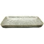 Tablett Junker, Metall, 20,5x20,5x1,5 cm