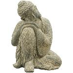 Skulptur DUR, Zement, 16x15,5x20,5 cm