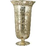 Vase Aurum, Glas, 27x27x46 cm