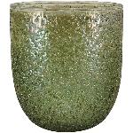 WindLicht VERT, grün, Glas, 7,5x7,5x8,5 cm