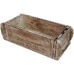 Kasten Antiquité, weiß, Holz, 29x15x10 cm