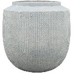 Vase Valo , grau, Zement, 36x36x36 cm