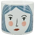 Topf MusH, Keramik, 6,5x6,5x6 cm