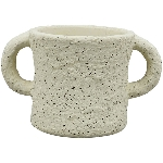 Topf MusH, Zement, 13x8x7 cm