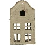 HausWindlicht ArtFerro, grau, Metall, 20x10x35 cm