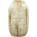 Vase Valo, grau, Terrakotta, 17x17x29 cm