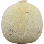 Vase SilO, weiß, Stoneware, 16,5x16,5x14,8 cm