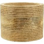Jar Dost, Holz, 15x15x11,5 cm