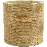 Jar Dost, Holz, 15x15x14,5 cm
