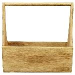 kasten Dost, Holz, 31x11,5x30,5 cm