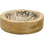 Tablett Dost, Holz, 13x13x3,5 cm