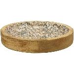 Tablett Dost, Holz, 22x22x3,5 cm