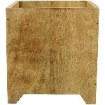Kasten Dost, Holz, 15x15x18 cm