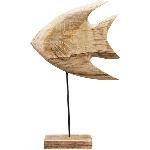 Fisch Dost, Holz, 39x25x8 cm