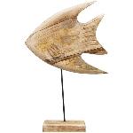 Fisch Dost, Holz, 45x30x8 cm