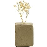 Vase ikebana, grau, Porzellan, 5x4,5x6 cm