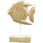 Fisch Dost, Holz, 21x7x31 cm