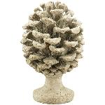 Zapfen Lilian, Polyresin, 17,5x17,5x26,5 cm