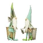 GnommitTopf  ArtFerro, Metall, 17x17x36 cm, 22x16x36 cm