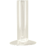 Vase Verrerie, Glas, 8,8x8,8x14 cm