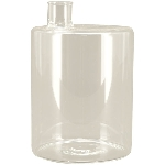 Vase Verrerie, Glas, 9,5x9,5x14 cm