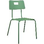 Stuhl Sobre, grün, Metall, 49x57x84 cm