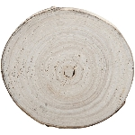 Holz Scheibe TIMBA, natur, Holz, 17x17x2,5 cm