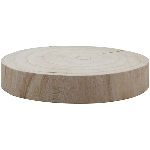 Holz Scheibe TIMBA, natur, Holz, 20x20x4 cm
