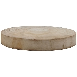 Holz Scheibe TIMBA, natur, Holz, 30x30x4 cm