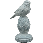 Vogel TARO, Polyresin, 14x9x20,2 cm
