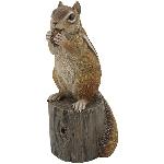 Chipmunk Lilian, Polyresin, 11,6x10,5x22,6 cm