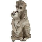 Mongooses Lilian, Polyresin, 11x9x17,3 cm