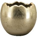PflanzEi Aurum, gold, Stoneware, 13x13x12 cm