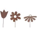 Blumenstab ArtFerro, Metall, 30x6,2x0,1 cm