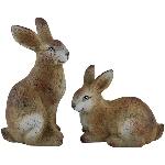 Hase ArteToscana, braun, Terracotta, 12x10x20,5 cm